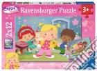 Ravensburger 07592 - Puzzle 2x12 Pz - L'Armadio Di Chloe' puzzle