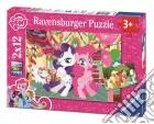 Ravensburger 07600 - Puzzle 2x12 Pz - My Little Pony puzzle