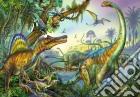 Puzzle 2x20 pz - prehistoric giants