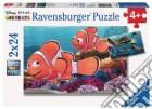 Ravensburger 09044 - Puzzle 2x24 Pz - Alla Ricerca Di Nemo puzzle