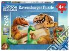 Ravensburger 09079 - Puzzle 2x24 Pz - The Good Dinosaur - Il Viaggio Di Arlo puzzle