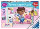 Ravensburger 09080 - Puzzle 2x24 Pz - Dottoressa Peluche puzzle