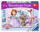 Ravensburger 09086 - Puzzle 2x24 Pz - Sofia La Principessa puzzle