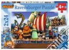Ravensburger 09094 - Puzzle 2x24 Pz - Vicky Il Vichingo puzzle