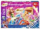 Ravensburger 09116 - Puzzle 2x24 Pz - Winx Club puzzle