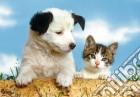 Puzzle 2x20 pz - cani e gatti