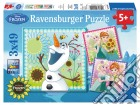 Ravensburger 09245 - Puzzle 3x49 Pz - Frozen Fever puzzle
