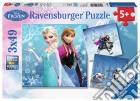Ravensburger 09264 - Puzzle 3x49 Pz - Frozen - Avventure puzzle