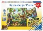 Puzzle 3x49 pz - animali puzzle