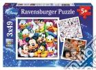 Ravensburger 09274 - Puzzle 3x49 Pz - Classici Disney puzzle