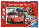 Ravensburger 09281 - Puzzle 3x49 Pz - Cars 2 - Giro Intorno Al Mondo puzzle
