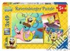 Puzzle 3x49 pz - spb spongbob puzzle