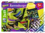 Ravensburger 09328 - Puzzle 3x49 Pz - Teenage Mutant Ninja Turtles puzzle