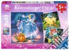 Ravensburger 09339 - Puzzle 3x49 Pz - Principesse Disney - Ariel, Biancaneve e Cenerentola puzzle