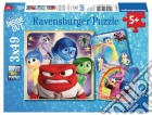 Ravensburger 09370 - Puzzle 3x49 Pz - Inside Out puzzle