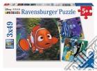 Puzzle 3x49 Pz - Alla Ricerca Di Nemo - Nell'Acquario puzzle