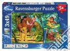 Puzzle 3x49 pz - dlk il re leone puzzle