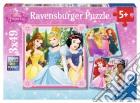 Ravensburger 09402 - Puzzle 3x49 Pz - Principesse Disney - Amiche puzzle