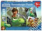 Ravensburger 09406 - Puzzle 3x49 Pz - The Good Dinosaur - Il Viaggio Di Arlo puzzle