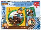 Ravensburger 09409 - Puzzle 3x49 Pz - Vicky Il Vichingo puzzle