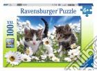 Ravensburger 10612 - Puzzle XXL 100 Pz - Gattini Fra Le Margherite puzzle