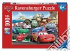 Ravensburger 10615 - Puzzle XXL 100 Pz - Cars 2 - Gara Con Imprevisti puzzle
