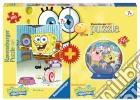 Bi-pack 100pz + mini 3d puzzle - spb spongebob puzzle