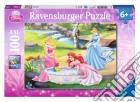 Ravensburger 10639 - Puzzle XXL 100 Pz - Principesse Disney - Le Principesse E I Piccoli Amici puzzle