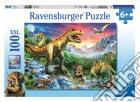 Ravensburger 10665 - Puzzle XXL 100 Pz - L'Era Dei Dinosauri puzzle