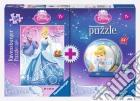 Bi-pack 100pz + mini 3d puzzle - dpr disney princess puzzle