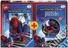 Bi-pack 100pz + mini 3d puzzle - spi spiderman puzzle