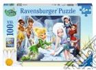 Puzzle super 100 pz - winter fairies puzzle