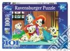 Puzzle super 100 pz - daf i cuccioli si vestono  puzzle