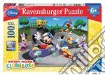 Ravensburger 10871 - Puzzle XXL 100 Pz - La Casa Di Topolino - Allo Skate-Park puzzle