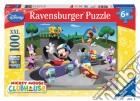 Puzzle super 100 pz - dmm topolino allo skate-park