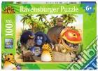 Ravensburger 10917 - Puzzle XXL 100 Pz - Vita Da Giungla - Maurice E I Suoi Amici puzzle