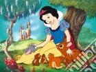 Biancaneve e i cuccioli puzzle