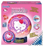 3d puzzle lampada notturna 108 pz. - hky  hello kitty
