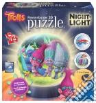 Ravensburger 11796 - Puzzleball Lampada Notturna 108 Pz - Trolls puzzle