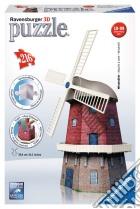 Puzzle 3d building serie midi - mulino a vento