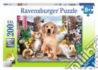 Puzzle super 200 pz - cuccioli della fattoria