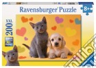 Ravensburger 12728 - Puzzle XXL 200 Pz - Amici Inseparabili puzzle