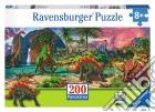 Ravensburger 12747 - Puzzle XXL 200 Pz - Nel Paese Dei Dinosauri puzzle
