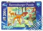 Puzzle super 200 pz - daf animal friends  puzzle
