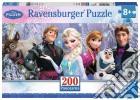 Ravensburger 12801 - Puzzle XXL 200 Pz - Frozen - Panorama puzzle