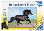 Ravensburger 12803 - Puzzle XXL 200 Pz - Black Stallion puzzle
