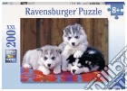 Ravensburger 12823 - Puzzle XXL 200 Pz - 3 Cuccioli Di Husky puzzle