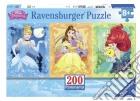 Ravensburger 12825 - Puzzle XXL 200 Pz - Principesse Disney - Panorama puzzle