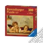 Ravensburger 14002 - Puzzle 300 Pz - Arte - Raffaello - I Cherubini puzzle