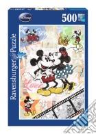 Puzzle 500 pz - retro mickey